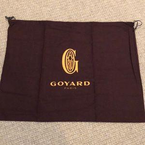 Authentic Goyard Large Dust Cover